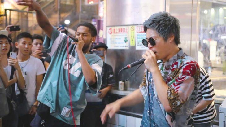 渋谷サイファー乱入事件 2018.08.14