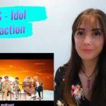 BTS – Idol MV reacción | K-pop reaction