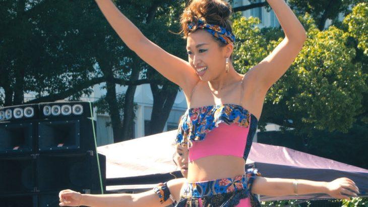 ものすごいレゲエダンスがジャマフェス名古屋で炸裂 ♪Σ( ゚Д゚) BUMNAMITE ②