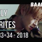 Baabylons Weekly Favorite Songs W33+34-18 [K-Pop]