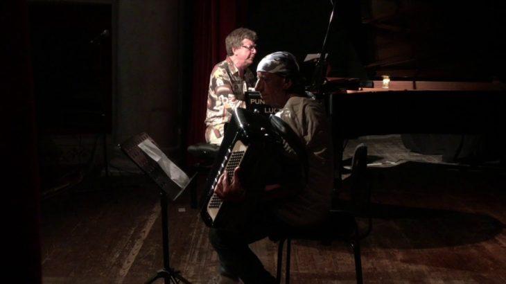 Barga jazz festival 2018   ANTONELLO SALIS AND RICCARDO FASSI in  BARGA,  Tuscany, ITALY