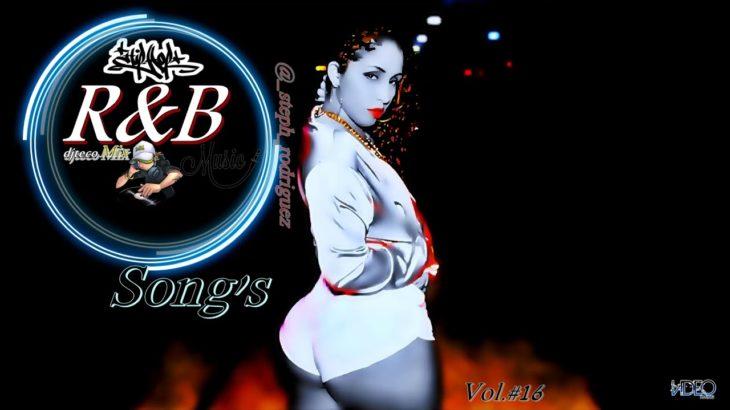 CollectionMix – R&B'Songs Vol.#16 (((djtecoMix))) Capa @ _steph_rodriguez