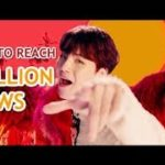 FASTEST K-POP GROUP MV TO REACH 20 MILLION VIEWS