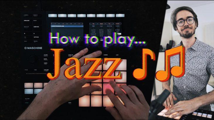 Finger drumming JAZZ tutorial