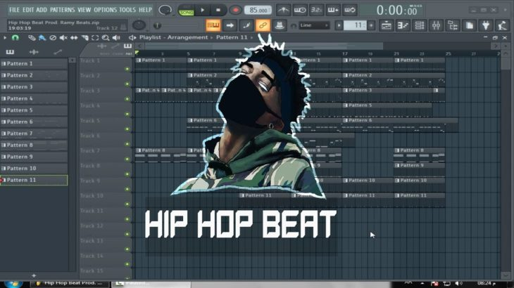 Hip Hop Beat – FL Studio