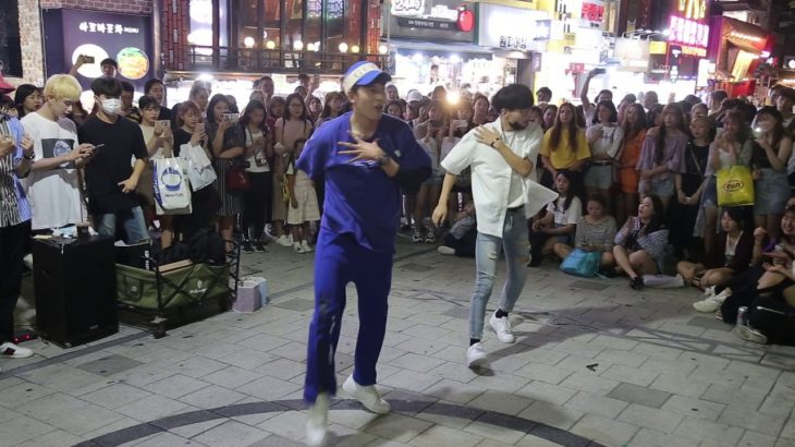 JHKTV]홍대댄스 디오비 & 연합팀 hong dae k-pop dance dob & union 풋사랑
