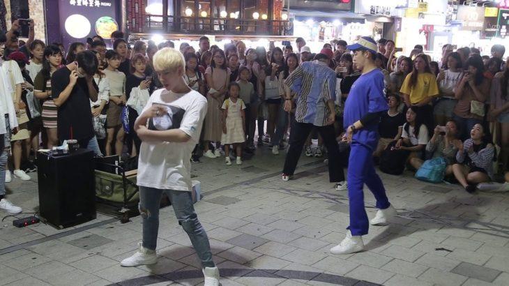 JHKTV]홍대댄스 디오비 & 연합팀 hong dae k-pop dance dob & union BOSS