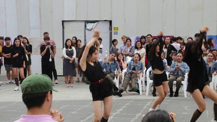 JHKTV]신촌댄스 레드킨 shin chon k-pop dance red queen Roller Coaster