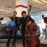 วงดนตรีแจ๊ส Jazz Trio งาน Big Motor Sale 2018 Bangkok, Thailand [Day 6 set2]