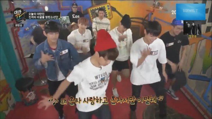 (K-POP)BTS Bangtan Boys Reaktionen, Tanzen, Comedy