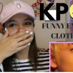 K-pop Stars wearing clothes with funny English phrases// LATINA REACTS
