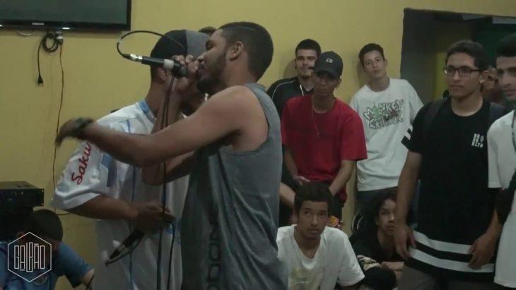 Liga Goiana de Mc's NONA ELIMINATÓRIA  Semana do Hip Hop- Primeira Fase – Alex GG x Sagi