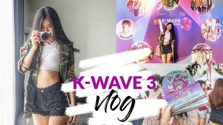 MY FIRST K-POP MUSIC FESTIVAL, K-WAVE 3 | VLOG #8