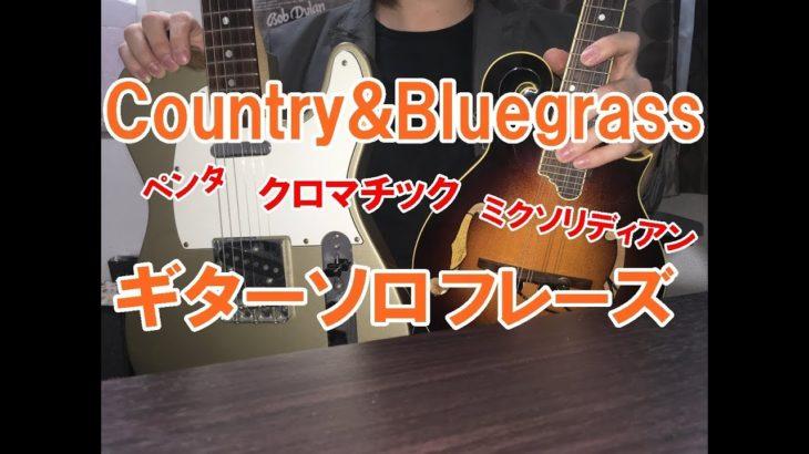 カントリー&ブルーグラス・ギターフレーズ【TAB譜】Guitar Country&Bluegrass Licks