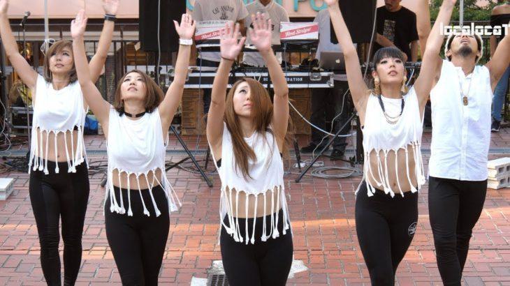 名古屋栄のど真ん中、テレビ塔もちのき広場で超カッコダンス☆彡