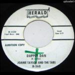 "Joanie Taylor and The Tabs-""Dapper Dan"" 1961 Female R&B SOUL 45"