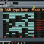 Slow Jam R&B type beat  Made using LMMS