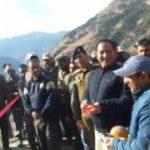 Sunil Sharma inauguration of Galigad  Kunja road  under PWD (R&B) Kishtwar