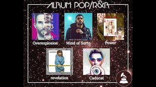 [VAGRAMMY 2019] ÁLBUM POP/R&B
