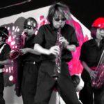 【MV】「千本桜」HAPPY SAX HIT EXPRESS!!より (HIBI★Chazz-K / Jazz Sax Ensemble+Drums)
