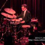 STANTON MOORE JAZZ TRIO : LIVE @ COTTON CLUB JAPAN  (Nov.24,2014)