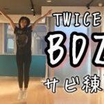 TWICE 新曲 BDZ サビダンスの振り起しに来ました。 KPOP DANCE Practice