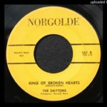 The Daytons – King Of Broken Hearts – 1958 R&B Vocal Group