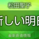 松田聖子 – 新しい明日 [ マチ工場のオンナ 主題歌 ]