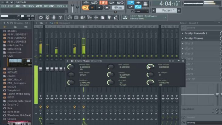 WORKFLOW BEAT de Hip Hop R&B en FL STUDIO 12