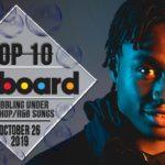 Top 10 • US Bubbling Under Hip-Hop/R&B Songs • October 26, 2019   Billboard-Charts