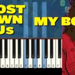 """Ghost Town Dj's – """"My Boo"""" (90's R&B) [Piano Tutorial] (Synthesia)"""