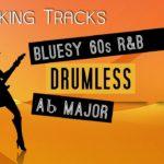 Bluesy 60s R&B Backing Track in Ab Major | Drumless | 100 BPM