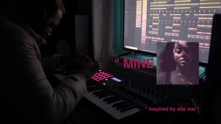 "(FREE) R&B Type Beat ""Mine"" ft. Ella Mai Type Beat | Free R&B Type Beat | R&B Beat 2019"