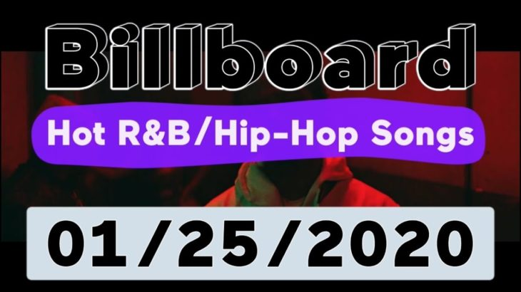 Billboard Top 50 Hot R&B/Hip-Hop/Rap Songs (January 25, 2020)