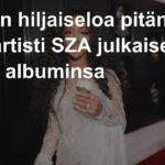 R&B-artisti SZA julkaisee toisen albuminsa