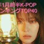 2020年1月前半K-POP神曲ランキングTOP40