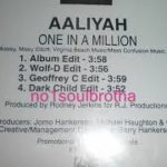 """Aaliyah """"One In A Million"""" (Wolf-D Edit) (90's R&B)"""