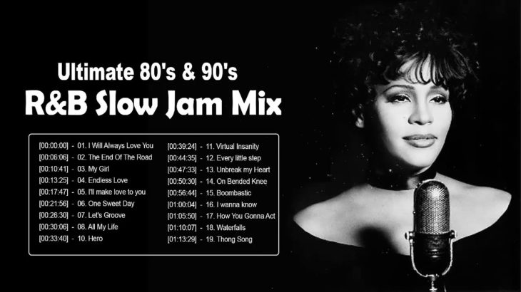 Ultimate 80's  90's RB Slow Jam Mix – 80's 90's Old School R&B Slow Jams – R&B Slow Jams Playlist
