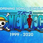 One Piece Full Openings Compilation (1999~2020) アニソンメドレー ワンピース オープニングテーマ集