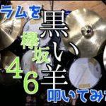 【欅坂46最新曲】黒い羊を好き勝手にアレンジしてドラムを叩いてみた