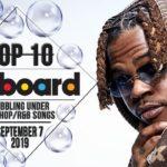 Top 10 • US Bubbling Under Hip-Hop/R&B Songs • September 7, 2019   Billboard-Charts