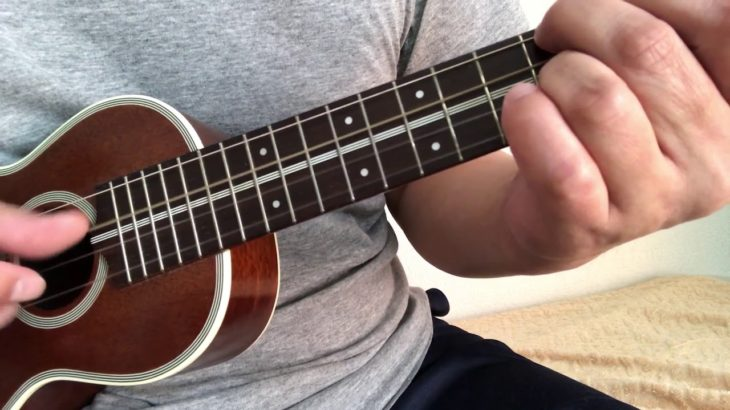 ukulele solo ウクレレ練習曲 [虹が見えたら] ウクレレカントリーブルース