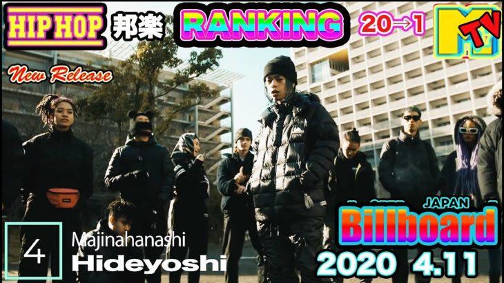 最新 日本語ラップ・ヒップホップ 人気曲 ランキング TOP 20 ヒットチャート CD TV 2020 hiphop Ranking